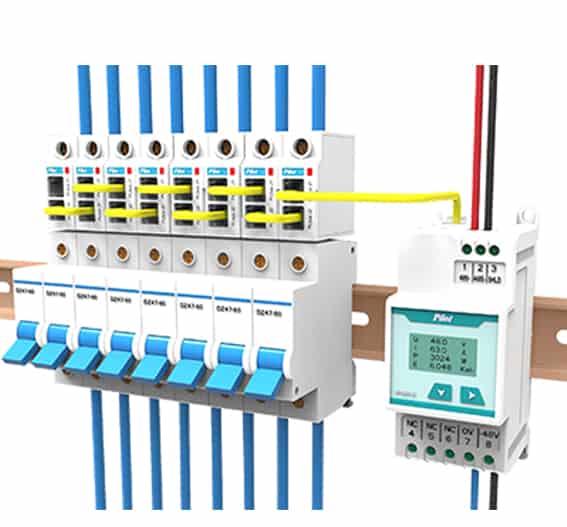 multikanals energimåler DC, energimåling