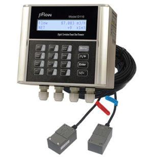 Ultrasonisk flowmeter D116
