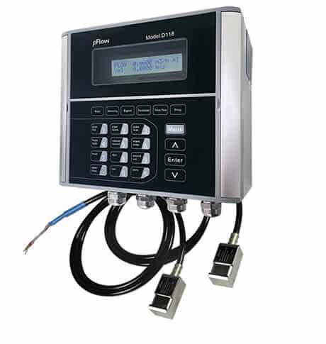 Ultrasonisk flowmeter D118