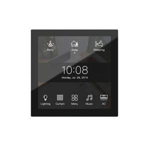 KNX Display black