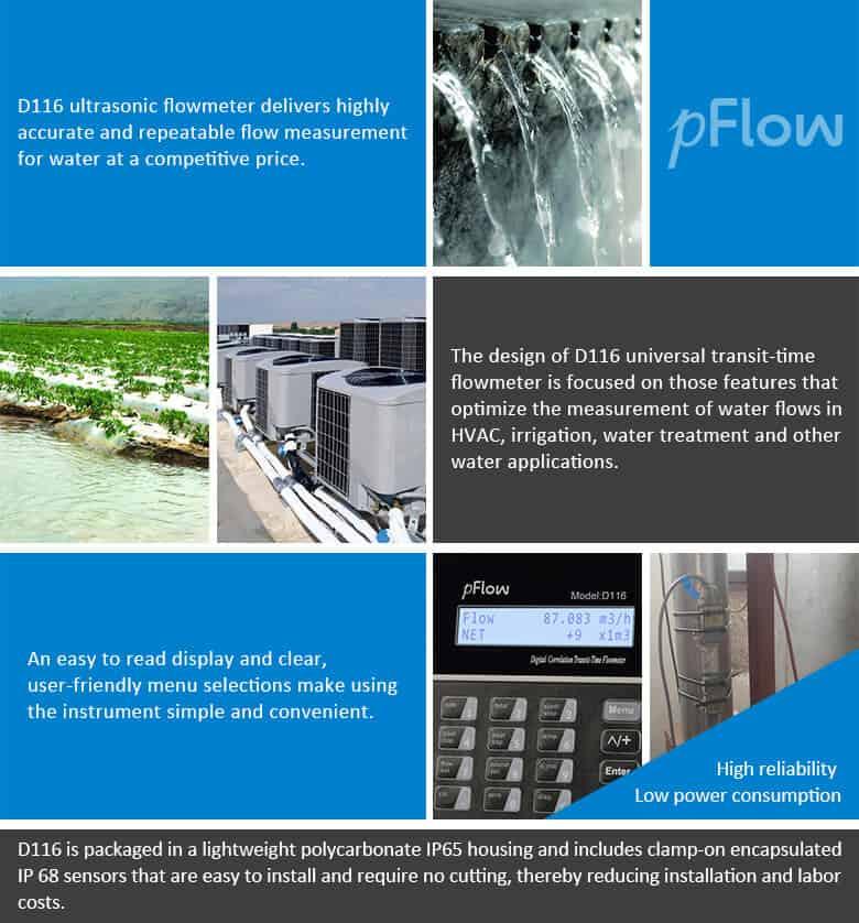 D116 flowmeter